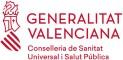 Logo Conselleria de Sanitat Universal i Salut Pública